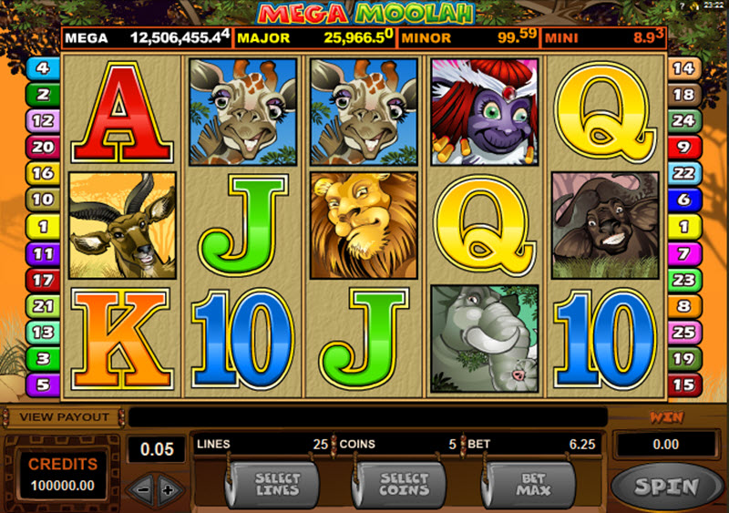 Mega Moolah Isis™ Slot Machine Game to Play Free in Microgamings Online Casinos