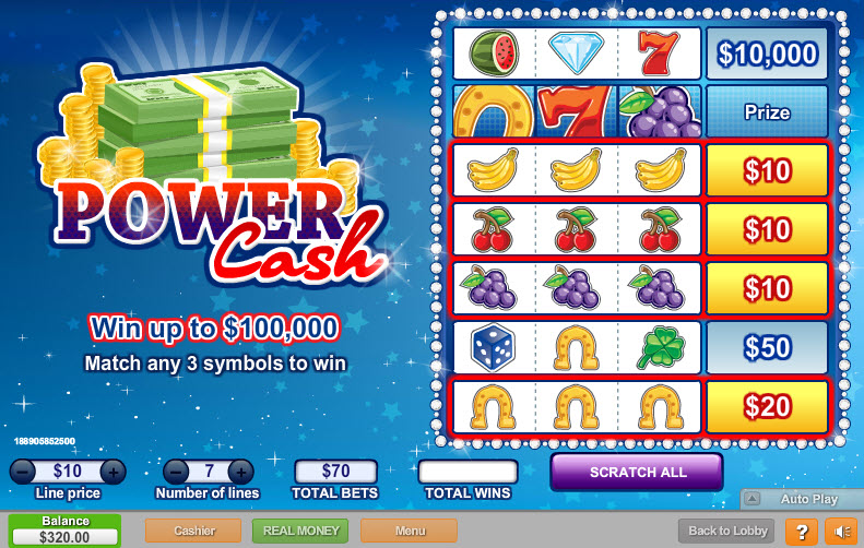 power cash